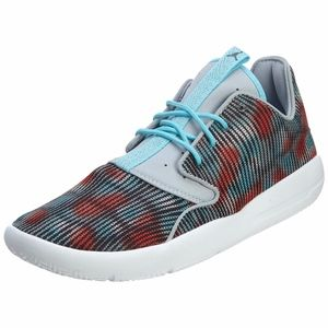 Jordan Kids' Nike Eclipse GG White red blue shoes